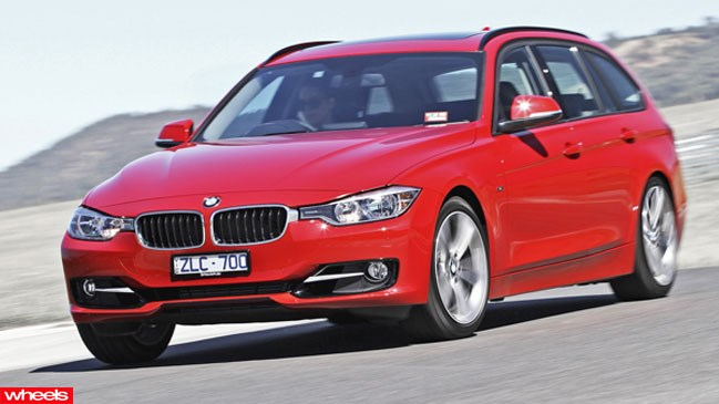 Review: BMW 3 Series Touring, Limited Edition, Wheels magazine, new, interior, price, pictures, video