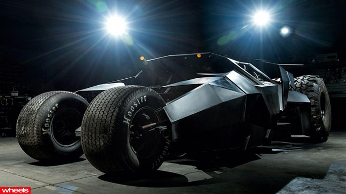 batmobile, young, rich, Batman, tumbler, Europe, Limited Edition, Wheels magazine, new, interior, price, pictures, video