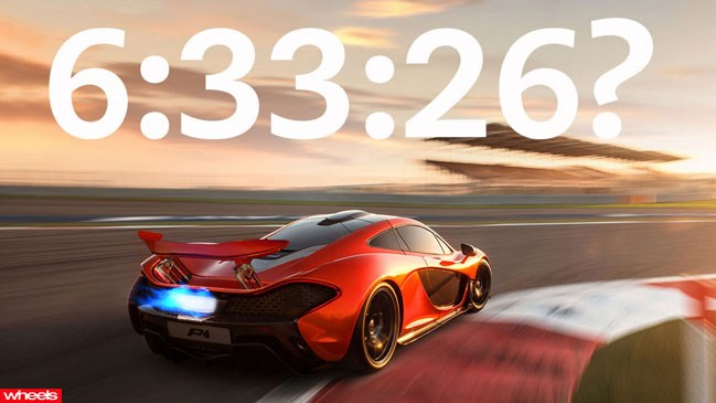 McLaren, P1, world's, fastest, nurburgring, lap, record, new