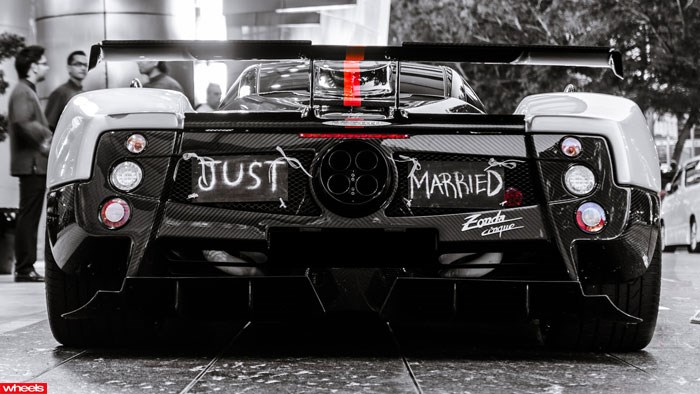 Zonda, fastest, wedding, car, Singapore, rare, cool, best