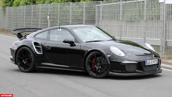 Spied! Porsche's new turbo weapon