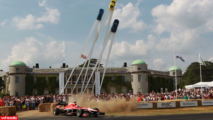 Goodwood, Festival, of Speed, highlights, gallery, wet dream,. supercars, race cars, motorsport