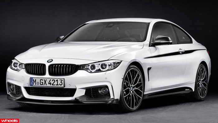 BMW, 4 Series, M Performance, pack, M3 coupe, Detroit, Motor Show