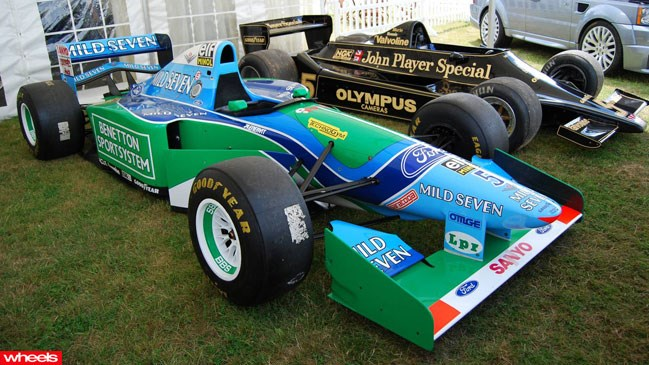 Michael, Schumacher, Benetton, Formula 1, car, rare, auction, Europe, sold, expensive