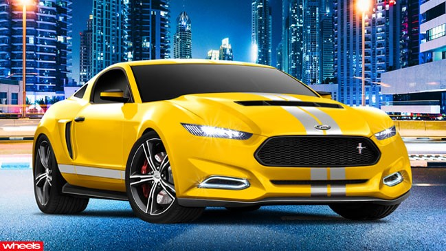Ford, Mustang, lighter, quicker, Australia, export, replace, Falcon