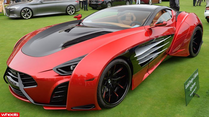Laraki Epitome Concept: insane $2 million 1305kW supercar
