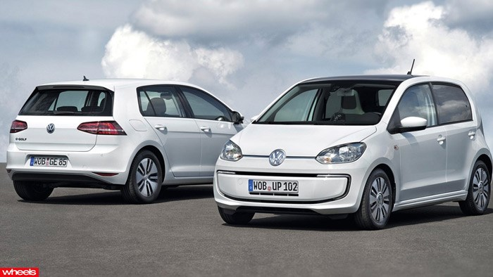 Volkswagen e-Up and e-Golf | VW electric revolution aims for the masses