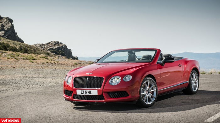 Bentley Continental GTV8S, Bentley, Frankfurt Motor Show 2013, Wheels, Wheels magazine