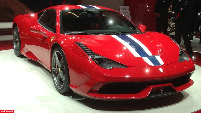 Ferrari's 458 Speciale is very special indeed in the metal.