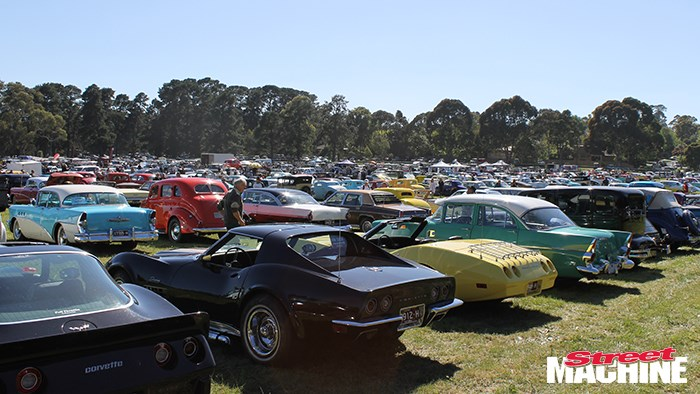 In pics: Rods, customs and muscle cars on Cup Day