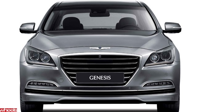 Wheels magazine, hyundai, genesis, sedan, korea, australia,