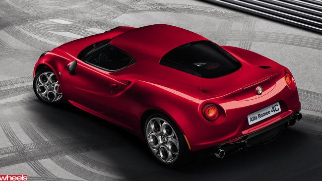 Wheels magazine, Alfa Romeo, rear-drive, Alfa 4C