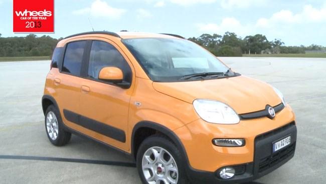 2013 Wheels Car of the Year: Fiat Panda