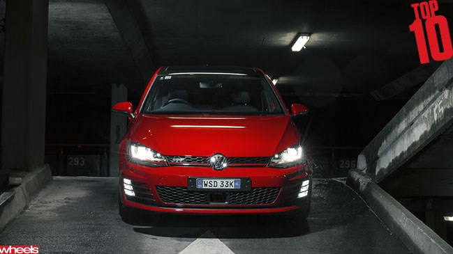 Wheels magazine, motoring, Top 10 2013, Volkswagen Golf GTI