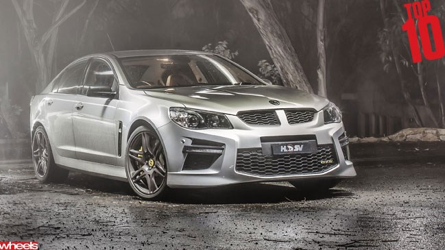 Wheels magazine, motoring, Top 10 2013, HSV GTS, muscle car