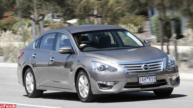 Wheels magazine, Nissan Altima, sedan, first drive