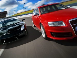 GALLERY: Audi RS6 vs Lambo Gallardo LP560 - 4