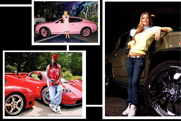Pimped-out Celebrity Rides