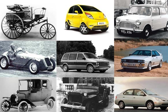 World's 10 most influential cars