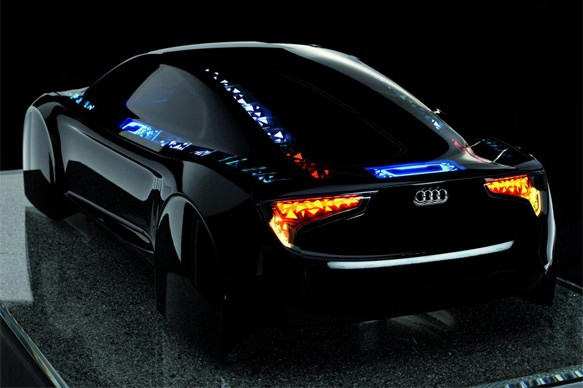 Audi reveals futuristic technology under development