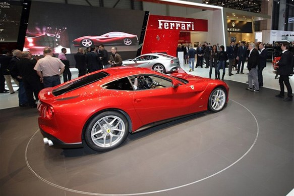 Top 10 supercars at Geneva