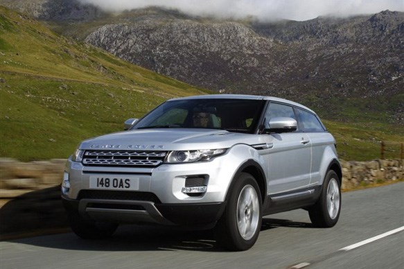 Range Rover Evoque wins Women's World Car of the Year 2012