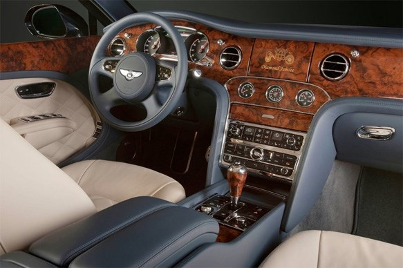 The most luxurious car interiors of 2012