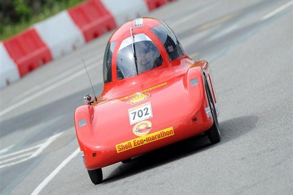 Eco-marathon winner records 0.03L/100km