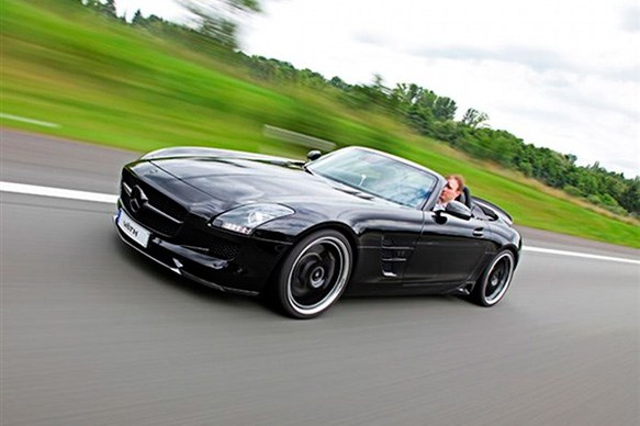 524kW Mercedes SLS AMG Roadster by VATH