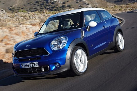 MINI Paceman revealed