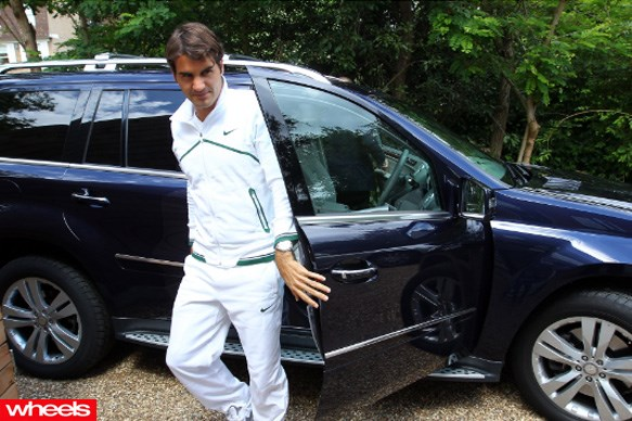 Tennis stars and their cars
