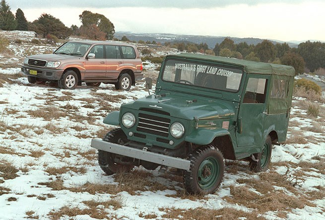 Austraila's first Landcruiser