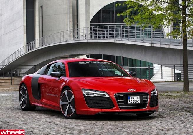 Audi R8 E Tron Resurrected