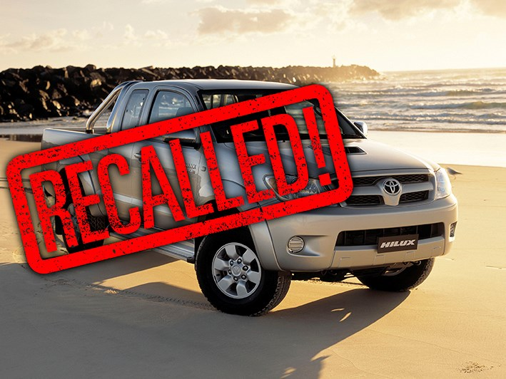 Toyota HiLux recalled