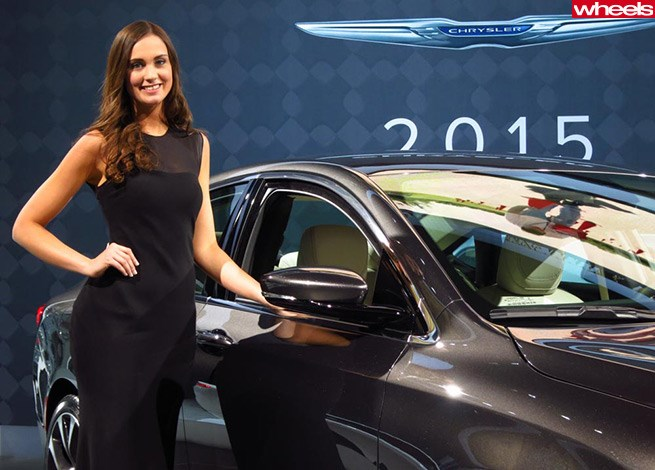 Girls of the New York Auto Show