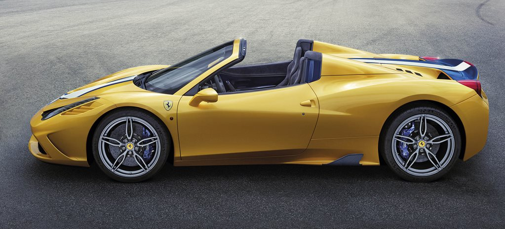Ferrari 458 Speciale convertible released