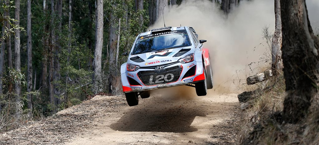 VIDEO: Hyundai i20 WRC Passenger ride