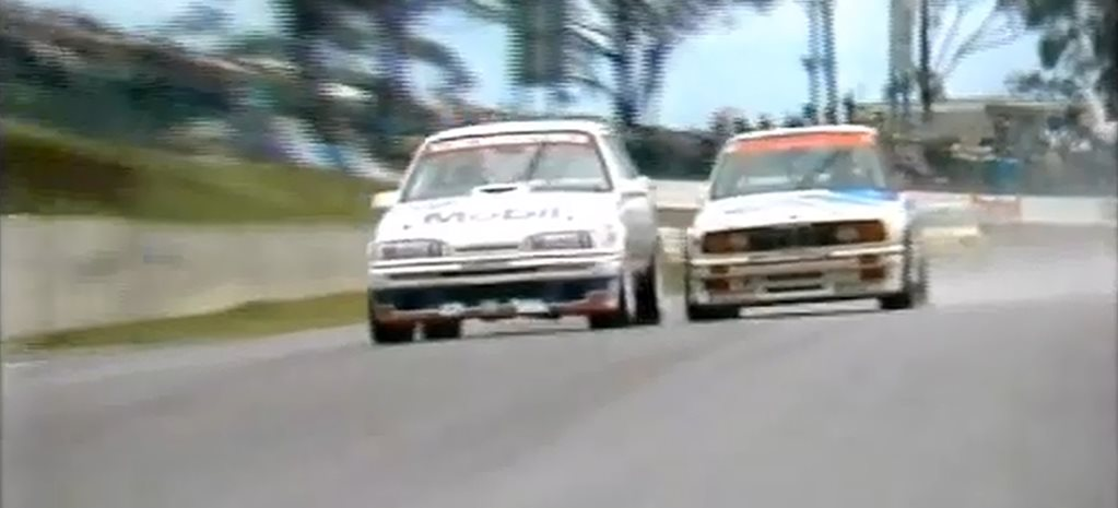 VIDEO: Peter Brock in the Wet