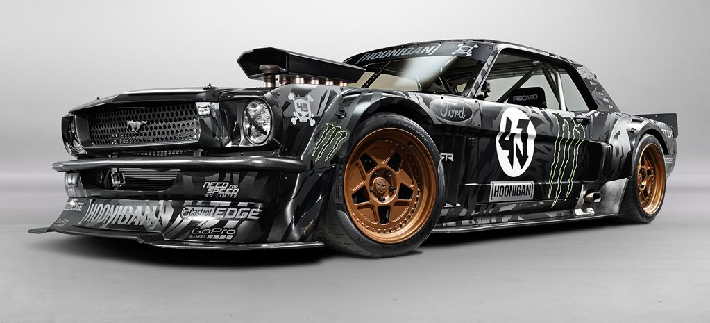 Ken Block reveals insane new gymkhana beast