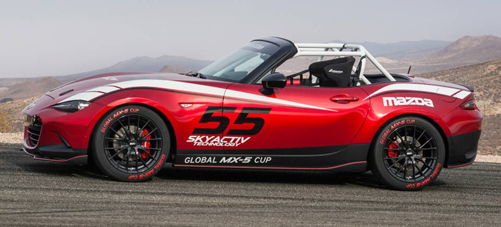 Mazda MX-5 Global Cup Racer revealed