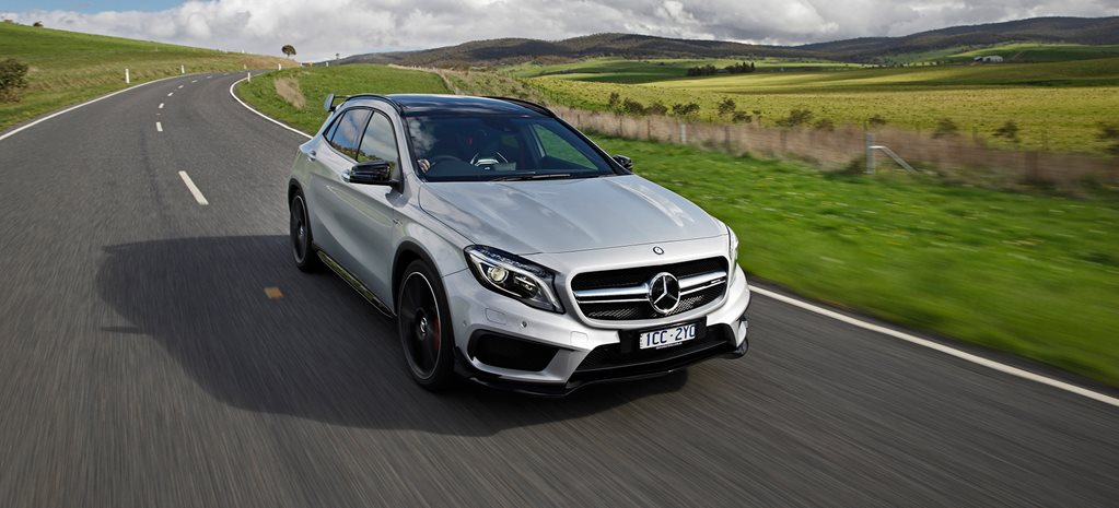 Mercedes Benz GLA45 AMG review