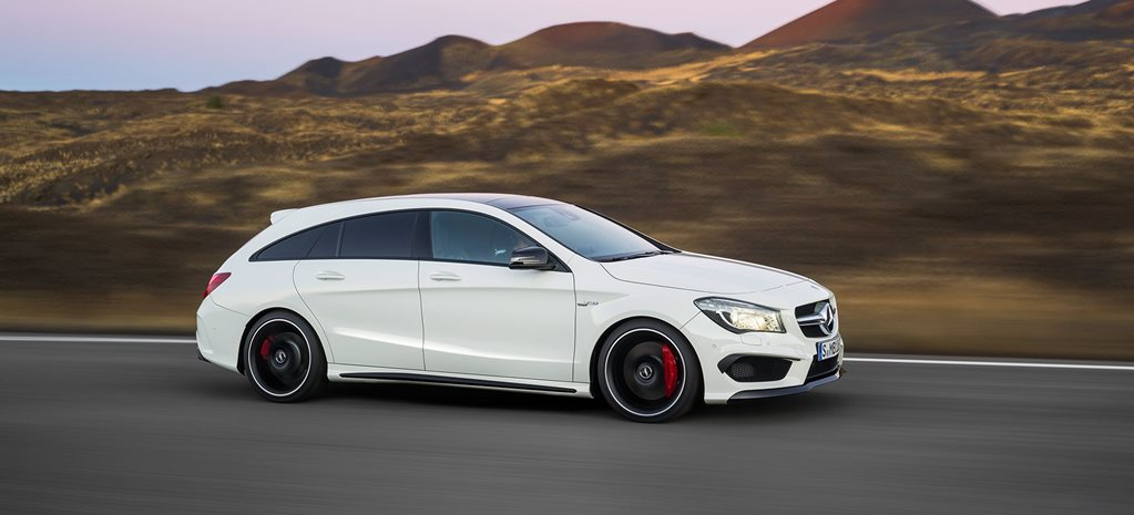 Mercedes-Benz reveals the CLA 45 AMG Shooting Brake