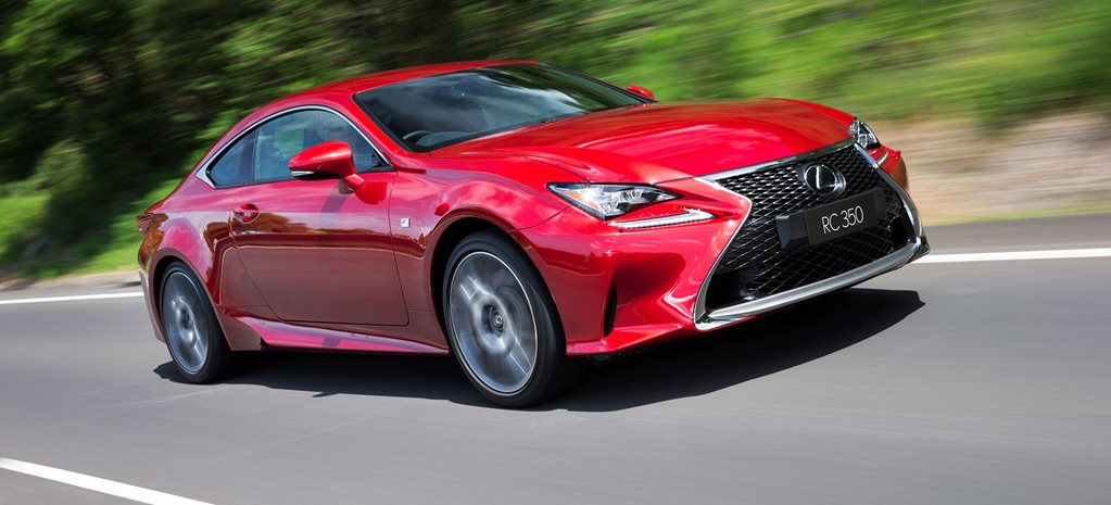 Lexus RC 350 review