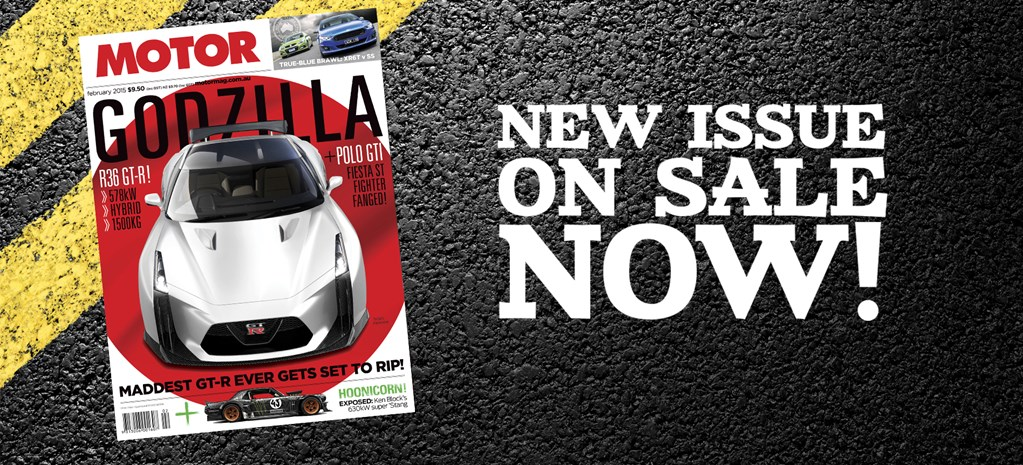 Welcome to the February issue of MOTOR
