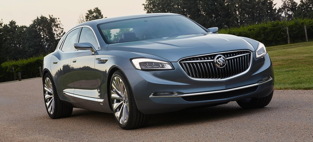 Detroit Motor Show: Buick Avenir Revealed