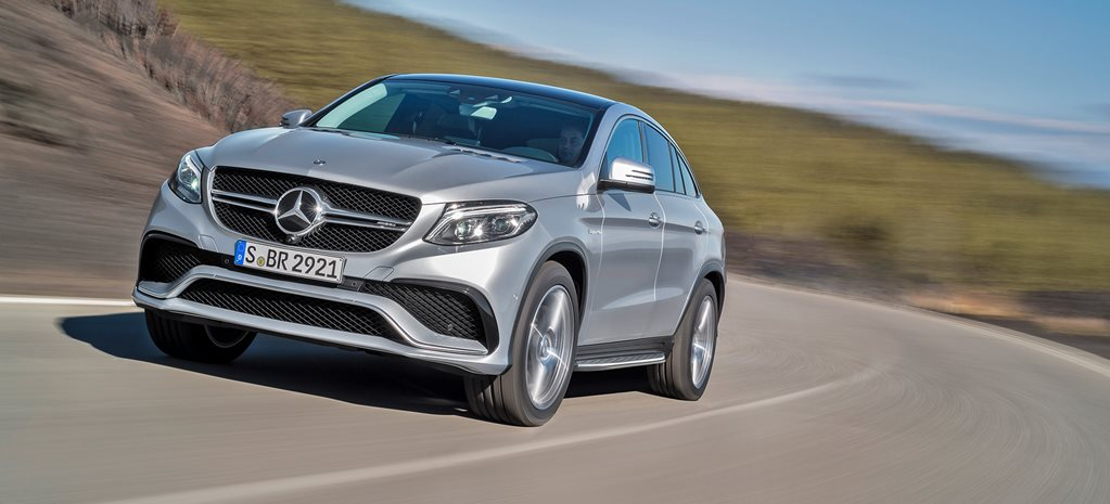 Detroit Motor Show: Mercedes-AMG GLE63 Coupe