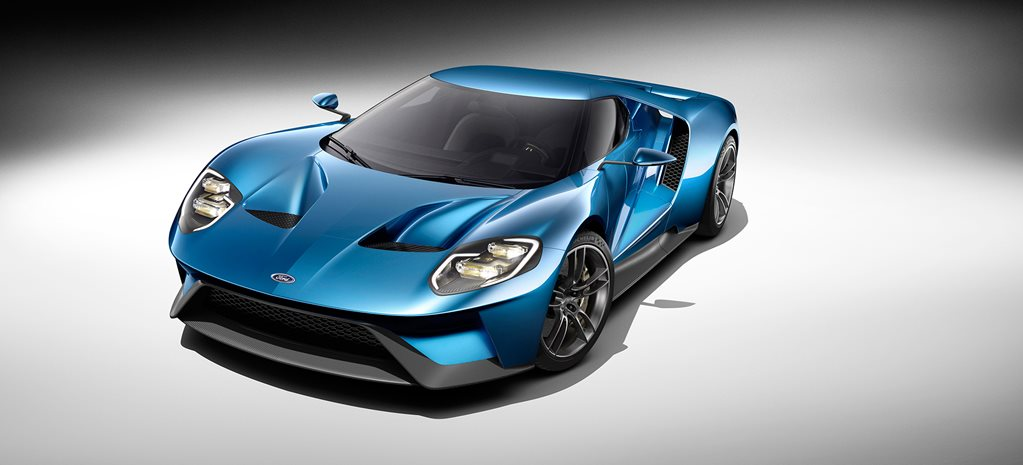 Detroit Motor Show: Ford GT