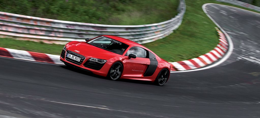 Next-gen Audi R8 to go all-electric