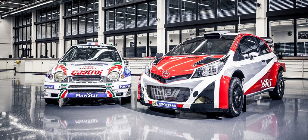 Toyota returns to WRC