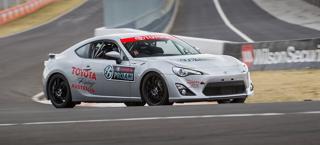 Toyota launches Aussie 86 race series